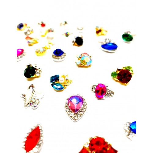 Folie de Transfer Butterfly Set 10 03 HOLLYWOOD PERFECT NAILS
